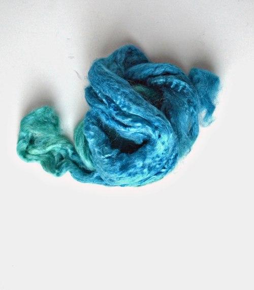 1 tussah silk