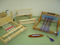 Glimakra, Schacht and Ashford Looms