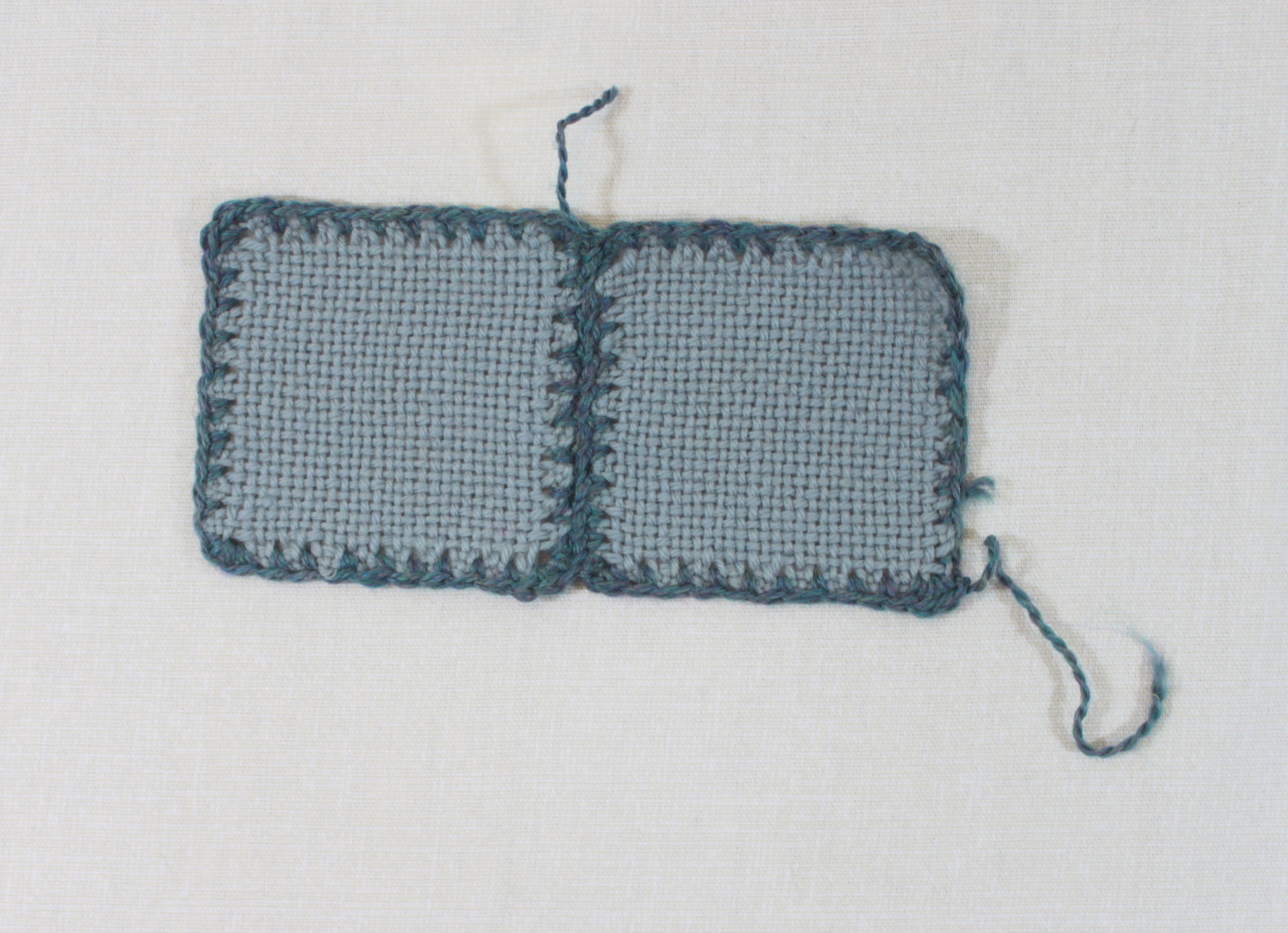 single crochet seamed
