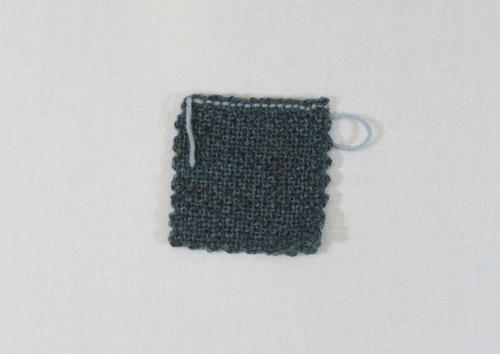 slip stitch finished back