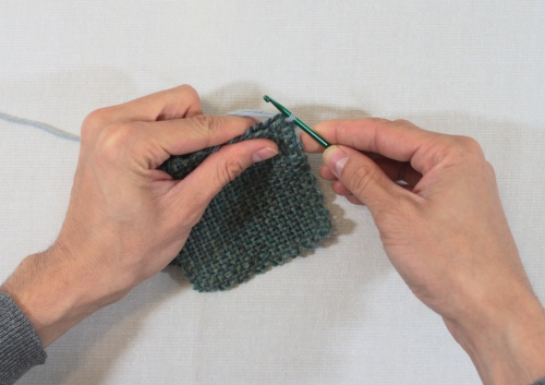 slip stitch secondary