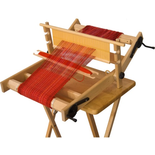 A Folding Rigid Heddle Loom
