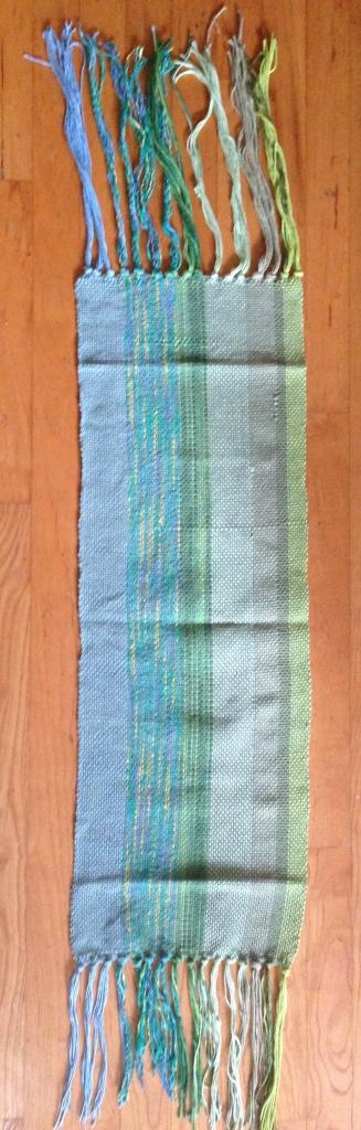 Fabric and fringe