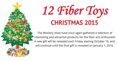 The Fiber Toys of Christmas will return to the Woolery in October! Stay tuned for amazing deals on your favorite fiber toys!