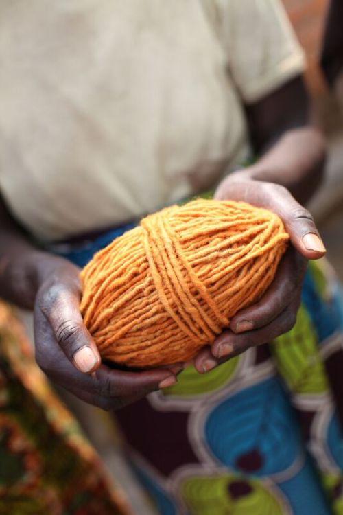 Handspun, hand-dyed yarn ready to go!