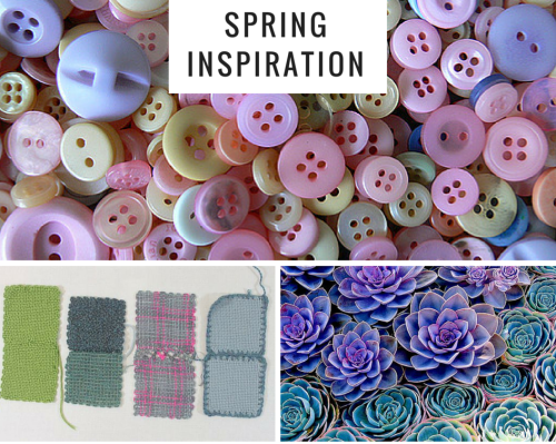 Mood board created with Canva. Visit the Woolery blog for more ways to plan your next weaving, spinning, or other craft project!