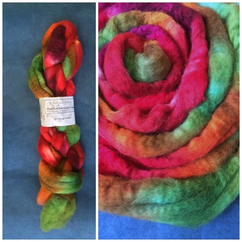 Spinning with dyed fiber, a guest post by Jillian Moreno on the Woolery Blog.