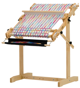 The Schacht Flip, a rigid heddle loom.
