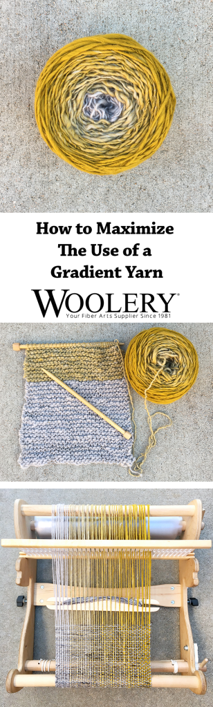Maximize the use of any gradient yarn AND get our free guide on blending fiber to spin your own gradient yarn, too!