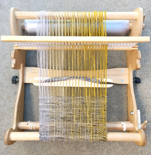 Find out how to plan your weaving project using a skein of gradient handspun yarn on the Woolery blog!