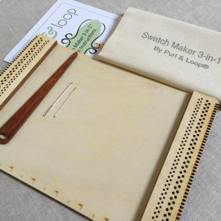 Purl & Loop Swatch Maker