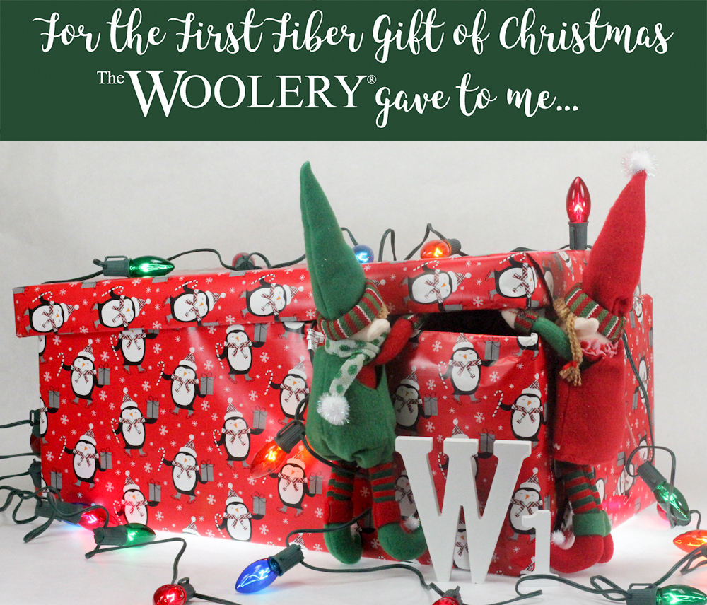 The First Fiber Gift of Christmas