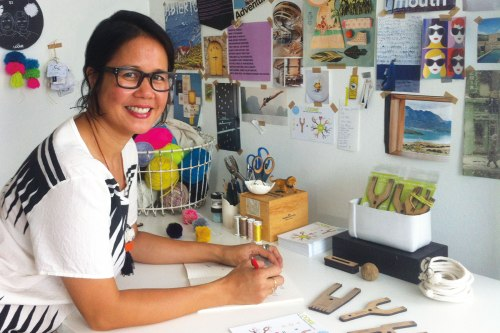 Vilasinee Bunnag working on designing Loome tools