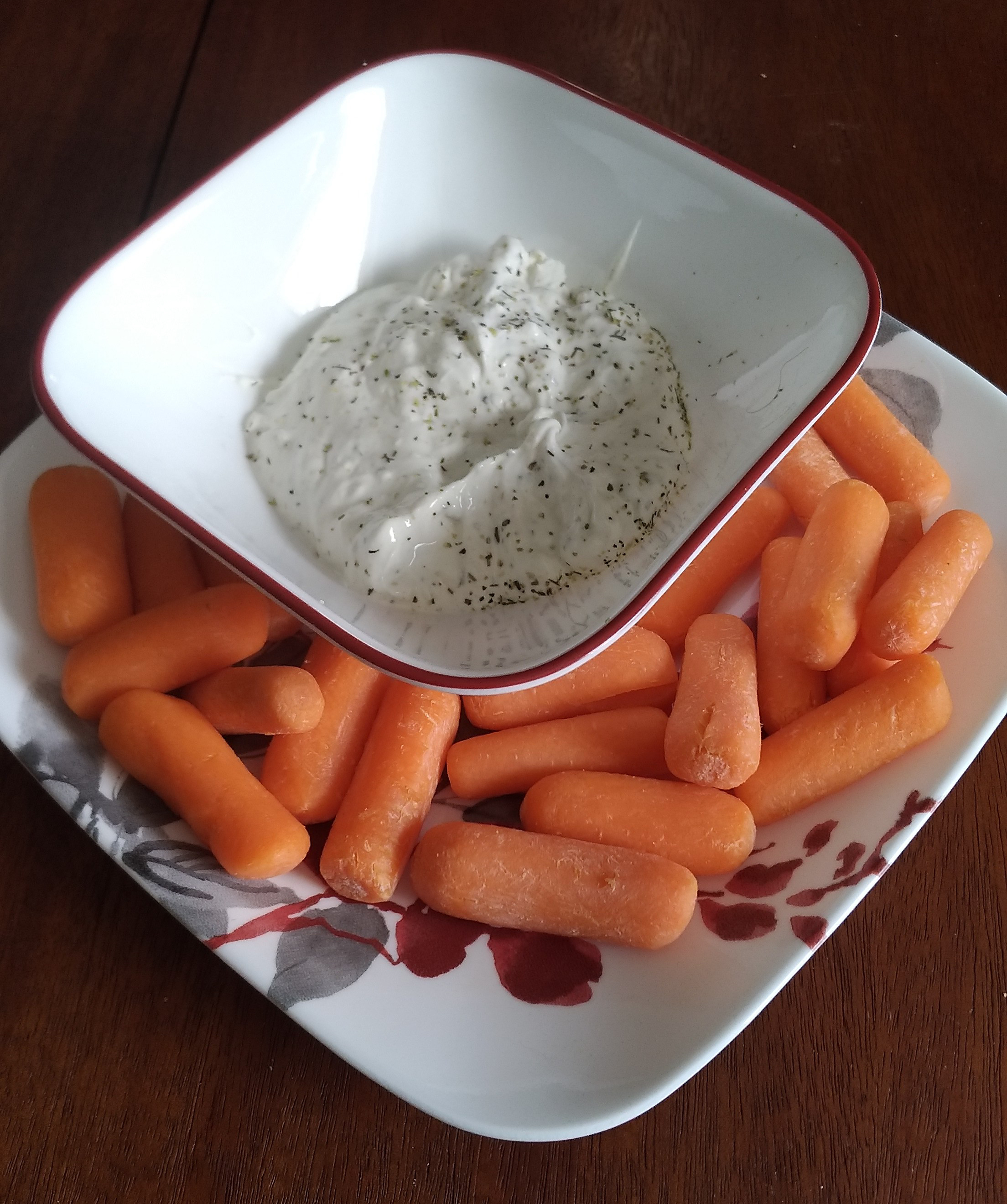 Taevia's Yogurt Cheese Dip