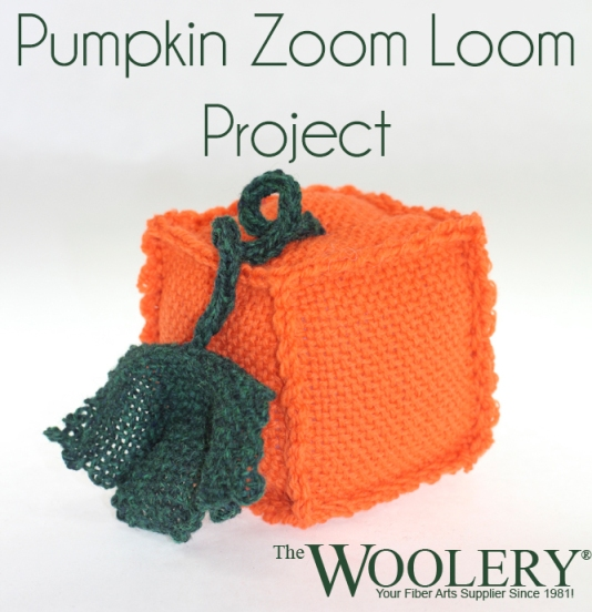 Pumpkin Zoom Loom Project from The Woolery