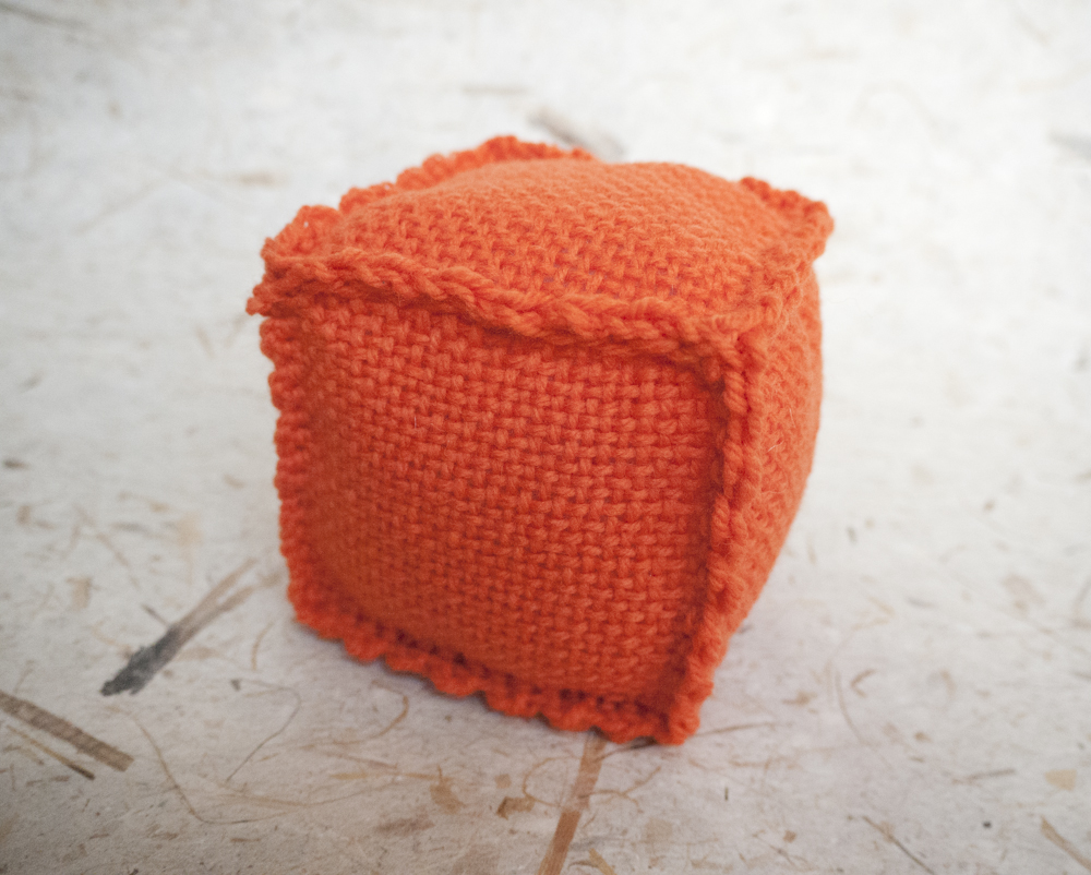 Orange Zoom Loom Cube