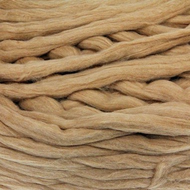 Natural Cinnamon Cotton Sliver