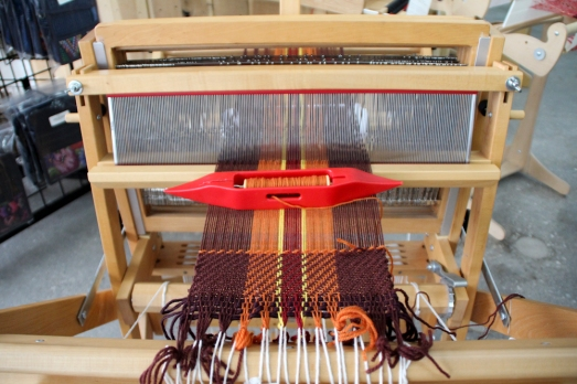 Weaving on the Schacht Wolf Pup