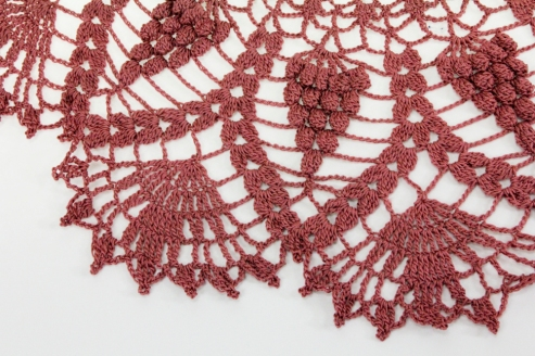 Detail of Mistene's Crocheted Doily