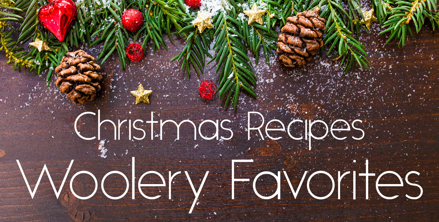 Christmas Recipes Woolery Favorites