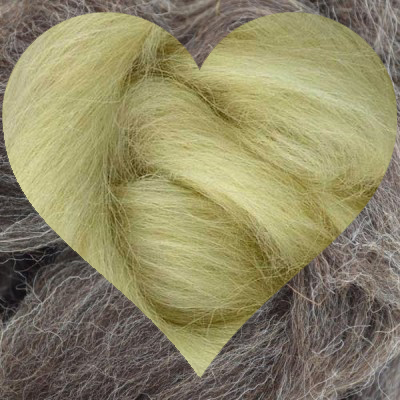 Conservation Breed Wool Heart