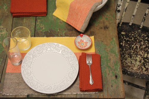 The Woolery Dining Room Weaving Set