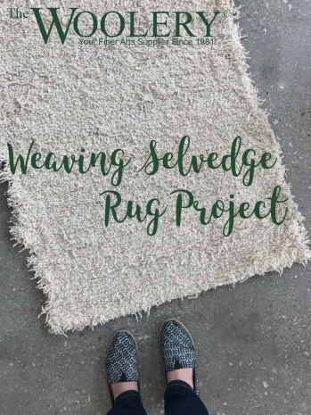 Weaving Selvedge Rug Project