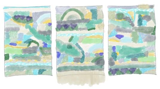 Tapestry Weaving Sketch