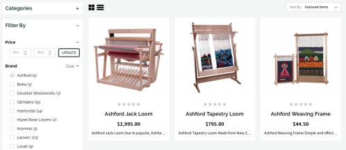 Weaving Loom Category